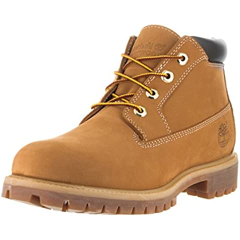 Timberland Mens Anti-Fatigue Heritage Waterproof Chukka Leather Boots