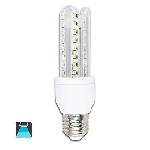 Aigostar – Bombillas LED B5 T3 3U, 9W, casquillo gordo E27, luz blanca 6400K