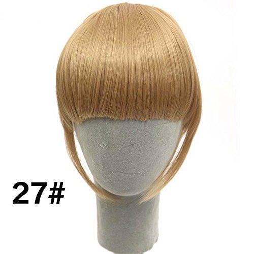 shangke vorne Hair Pony Extension Clip in Hair Bang Synthetic Hitzebeständige Kunstfaser Haar Fransen Cute Hair Fringe Bang Fringe Pony