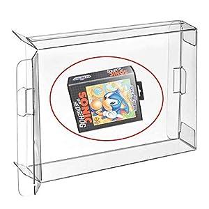 WiCareYo 10PCS Carts Clear CIB Spiel Cartridge Box Hülle Schutzhülle für Genesis MD Mega Drive 32 X Box Protektoren