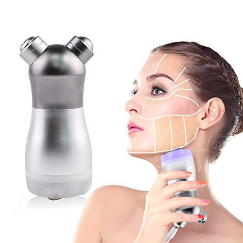 JY.amq Hautstraffendes Verjüngungs-Lichttherapie-Massagegerät, Tragbarer 3-Farben-LED-Photon-Rf-Gesichtskörper Keine Nadel-Mesotherapie, Die Akne-Behandlungs-Schönheitsgerät Weiß Wird