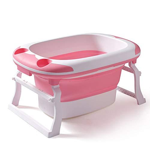 MAOMEI Extra große faltende Badewanne der Kinder, Babypartybadewanne, Neugeborene Schwimmenwanne, verwendbar für 0-15 Jahre alt