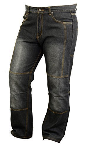 Price comparison product image Motorbike Kevlar Lined Jeans with Armours Abrasion Resistant W34 L32