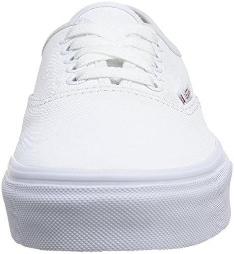 Vans U Authentic, Baskets mode mixte adulte Blanc (True White/Bran)