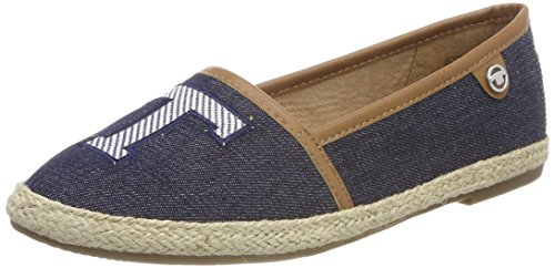 Tom Tailor 4892008, Espadrillas Donna, Blu (Navy), 38 EU