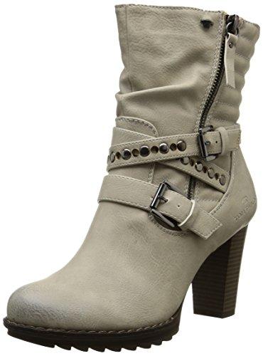 Tom Tailor Damen Kurzschaft Stiefel Weiß (Ice)