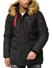 53ac8250adebc7 Suchergebnis auf Amazon.de für  Lederimitat Jacken - Herren  Bekleidung
