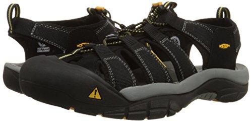 Keen Newport H2, Herren Sandalen Trekking- & Wanderschuhe, Schwarz (black), 43 EU (9 Herren UK) -