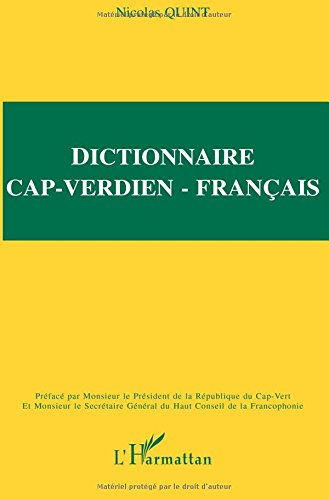 Dictionnaire Cap-Verdien/français par Nicolas Quint