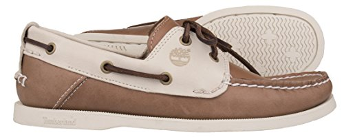 Chaussures Heritage Cw Boat 2 Tan - Timberland Marron