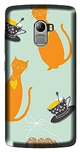 WOW 3D Printed Designer Mobile Case Back Cover For Lenovo Vibe X3 Lite