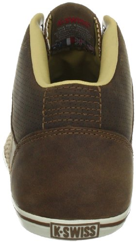 K-Swiss Hof IIi Mid Vnz, Baskets mode homme Marron (Brown/White)