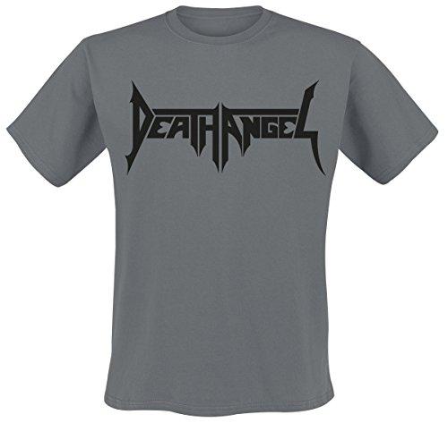 Death Angel Logo T-Shirt Charcoal M (Death T-shirt Angel)