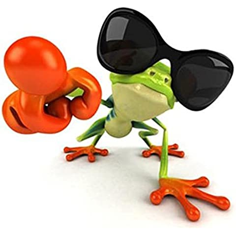 3D Peep Frog Funny Car Stickers Truck Window Decal Graphics Sticker (8WX9L, PIC 4)
