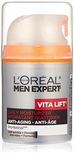 L'Oreal Men's Expert Vita Lift Anti-Wrinkle Moisturizer, 1.6-Oz by L'Oreal Paris (English Manual) -