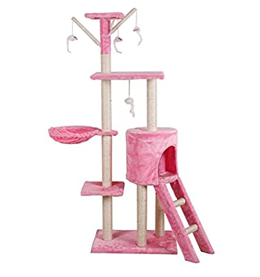 SavingPlus Cat Tree Scratching Post Activity Centre Pet Toy Scratcher