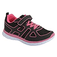 Dek Childrens/Kids Glow Lite Touch Fastening Elasticated Lace Trainers