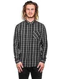 Chemise à manches longues Volcom Gaines Asphalt Noir