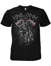 Fantasy Viking Hail Odin Warrior 701711 T-Shirt