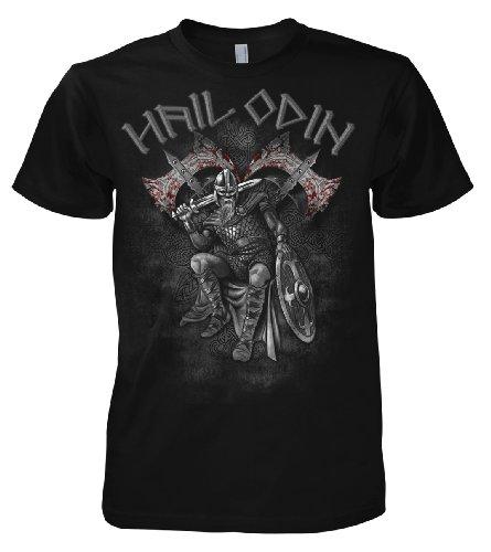Fantasy Hail Viking Odin Warrior 701711 T-shirt da uomo