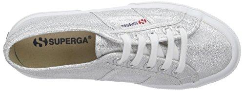 Superga Unisex-Kinder 2750 Lamej Sneakers Silber (031 Silver)