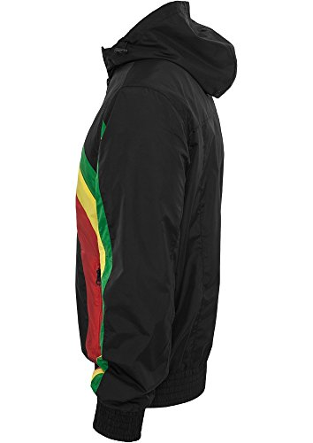 Racing Windbreaker black/rasta