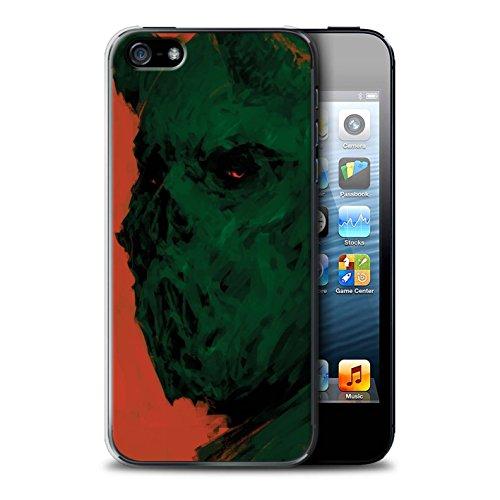 Offiziell Chris Cold Hülle / Case für Apple iPhone 5/5S / Teufel/Tier Muster / Wilden Kreaturen Kollektion Ungeheuer/Troll