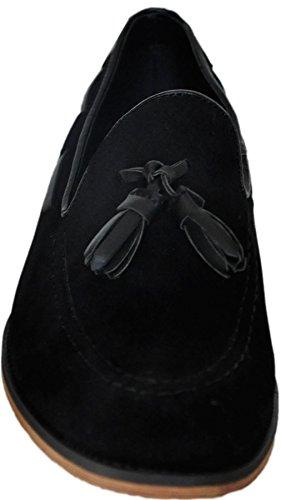 mocassins homme à doublure intérieure cuir mocassin1 Noir 3065