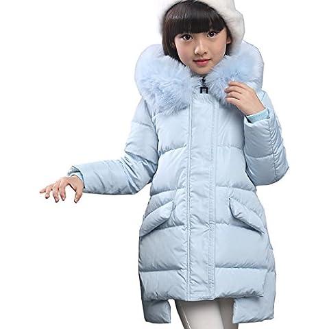 Piumino Bambina Invernale Giacca Bambina Piumino lungo Cappotto Snowsuit per