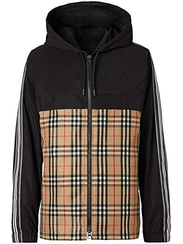 BURBERRY Luxury Fashion Herren 8024031 Schwarz Jacke |
