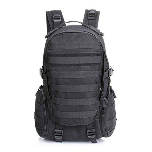 Imagen de hombres conecte bolsas de camping combinación impermeable  táctica militar bolsa de viaje asalto equitación negro