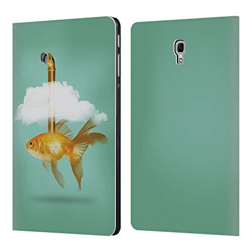fizielle Vin Zzep Periskop Goldfisch Fisch Brieftasche Handyhülle aus Leder für Samsung Galaxy Tab A 10.5 (2018) ()