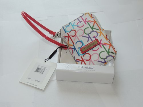 calvin klein universal cell phone case wristlet small