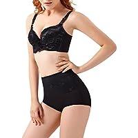 Yiitay Femme Culotte Gainante Taille Haute Panty Minceur Avec Armature Body Gaine Amincissante Ventre Plat