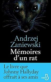 Mémoires d'un rat par Andrzej Zaniewski