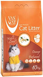 Van Cat 5 kg Orange Perfumed White Bentonite Clumping Cat Litter