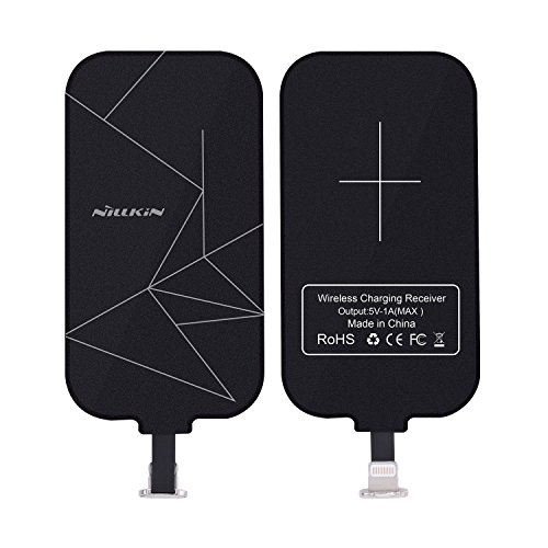 Nillkin Wireless Ladegerät fur iPhone, Wireless Charging Receiver, Magic Tag Qi Wireless Ladegerät Empfänger Patch Modul Chip für iPhone 7Plus/6Plus/6S Plus