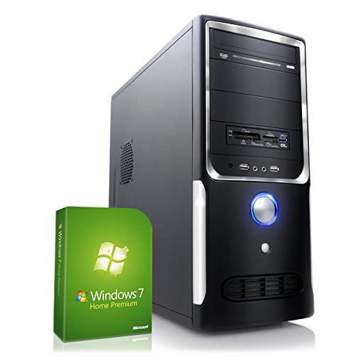 CSL Speed H4541 inkl. Windows 7 - Intel Core i5-4690 4x 3400MHz, 8GB RAM, 1000GB HDD, GeForce GT710, DVD, USB 3.0