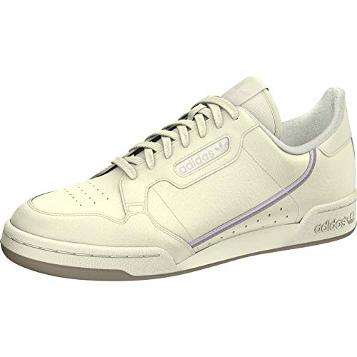 adidas Damen Continental 80 W Fitnessschuhe, Mehrfarbig (Casbla/Tinorc/Vissua 000), 38 2/3 EU 80 Schuh