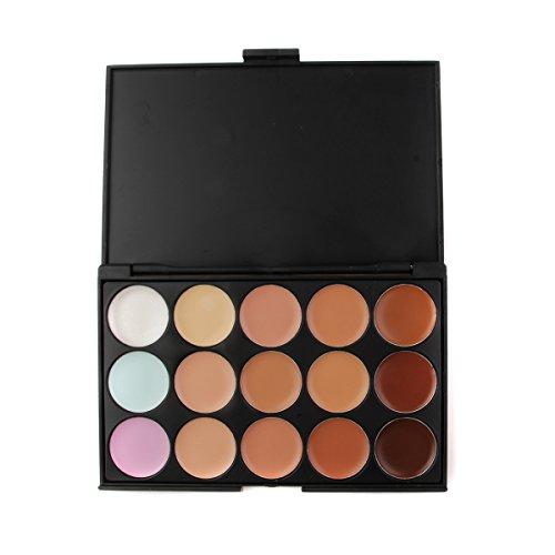 TININNA 15 Couleurs Correcteur Palette Kit Tininna Camouflage Maquillage Complet Couverture Crème Correcteurs