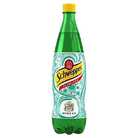 Schweppes Canada Dry Ginger Ale Slim Line 1L