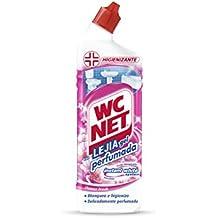 Wc Net Limpiainodoros Lejía Gel Instant White Perfumada - 4 Recipientes de 750 ml - Total