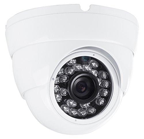 Smartwares DVR721C Zusatz Dome-Kamera für die Sets DVR724S und DVR728S als Erweiterung für den Außen- & Innenbreich