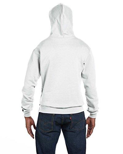 Champion Mens 50/50 EcoSmart Pullover Hood (S700) Weiß