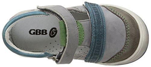 GBB Medine, Salomés Garçon Gris (11 Vte Gris/Turquoise Dpf/Manbo)