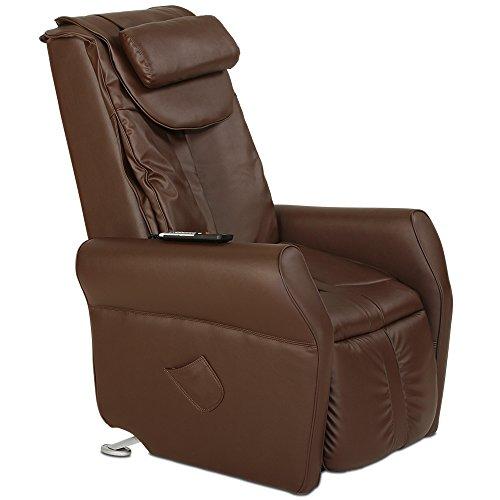 aktivshop Massagesessel Fernsehsessel mit Wärmefunktion, Aufstehhilfe, Shiatsu-Massage, Relaxsessel (Braun)