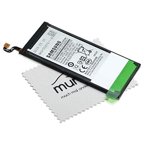 Batterie pour Samsung d'origine EB-BG935ABE pour Samsung Galaxy S7 Edge (G935F) avec Chiffon de Nettoyage mungoo