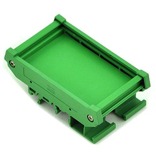 Electronics-Salon DIN-Schienen-Halterung für 47,35 mm x 72 mm Leiterplatte, Gehäuse, Halterung. Din Rail Mount Bracket