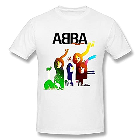 Herren's ABBA Pop Group LOGO T-shirt
