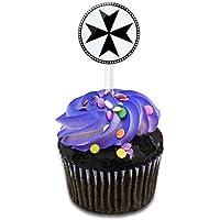 Cruz de Malta para tarta Cupcakes púas de hecho en Terra